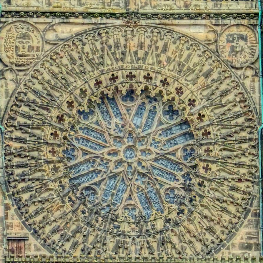 Rosette Lorenzkirche by Mittelfranke