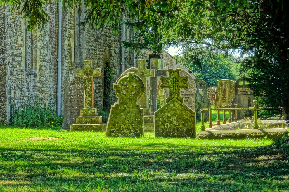 english cemetery by Mittelfranke