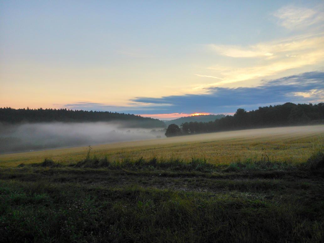 morning haze by Mittelfranke