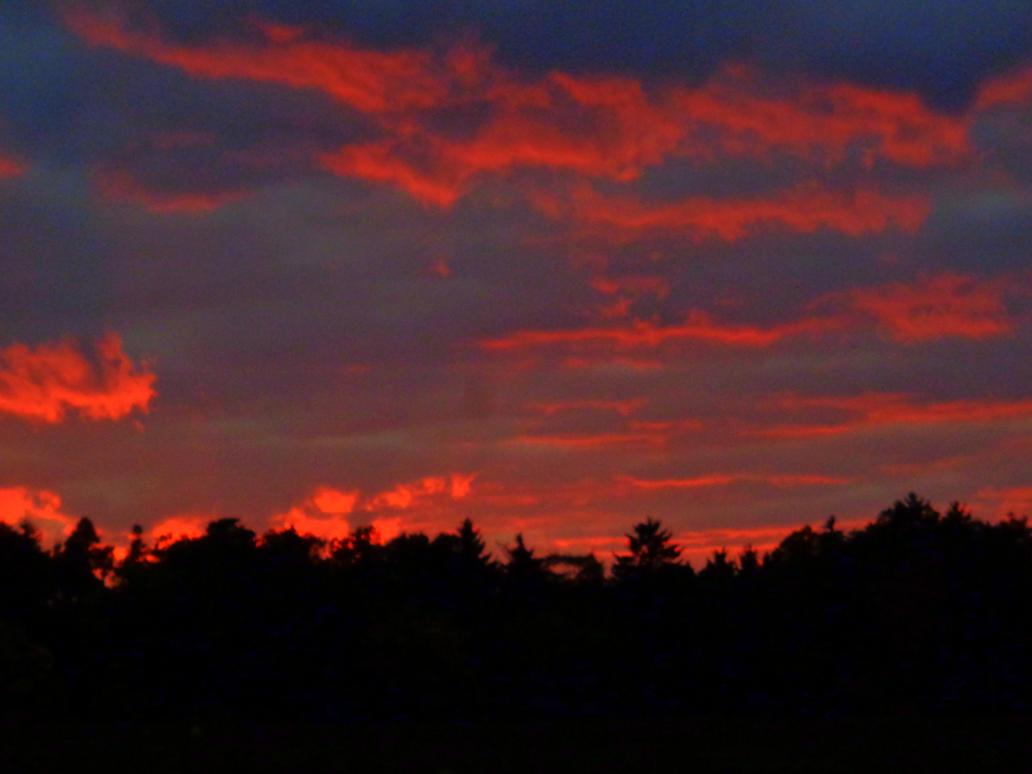 evening clouds by Mittelfranke