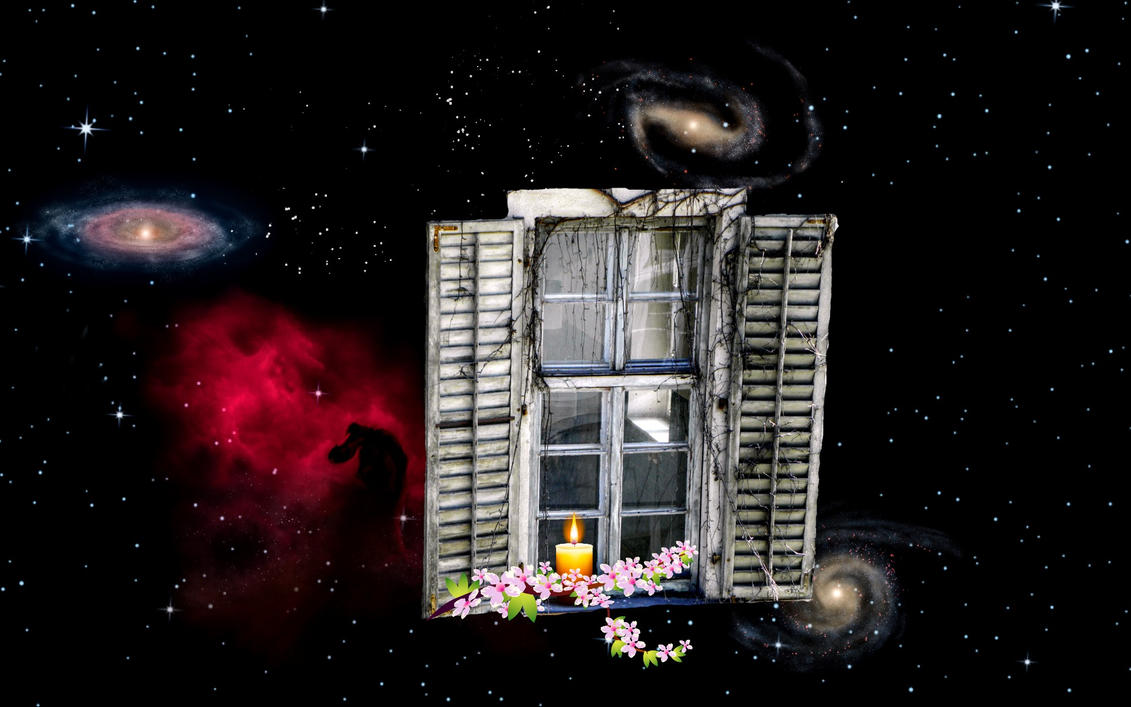 window to space by Mittelfranke
