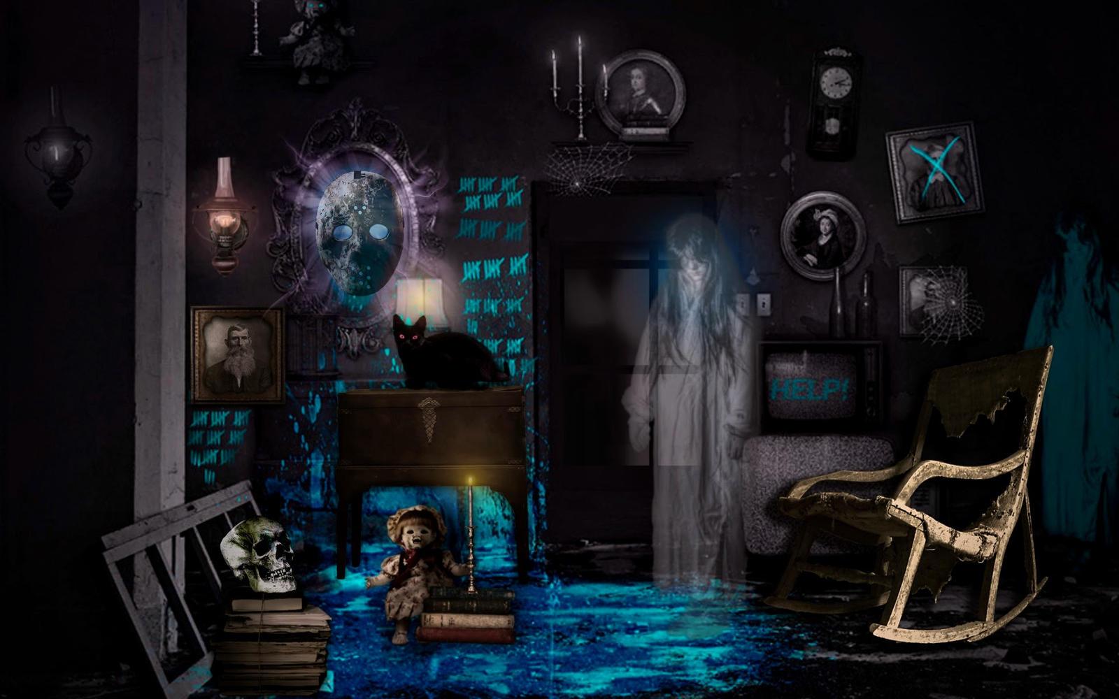 halloween ghost by Mittelfranke