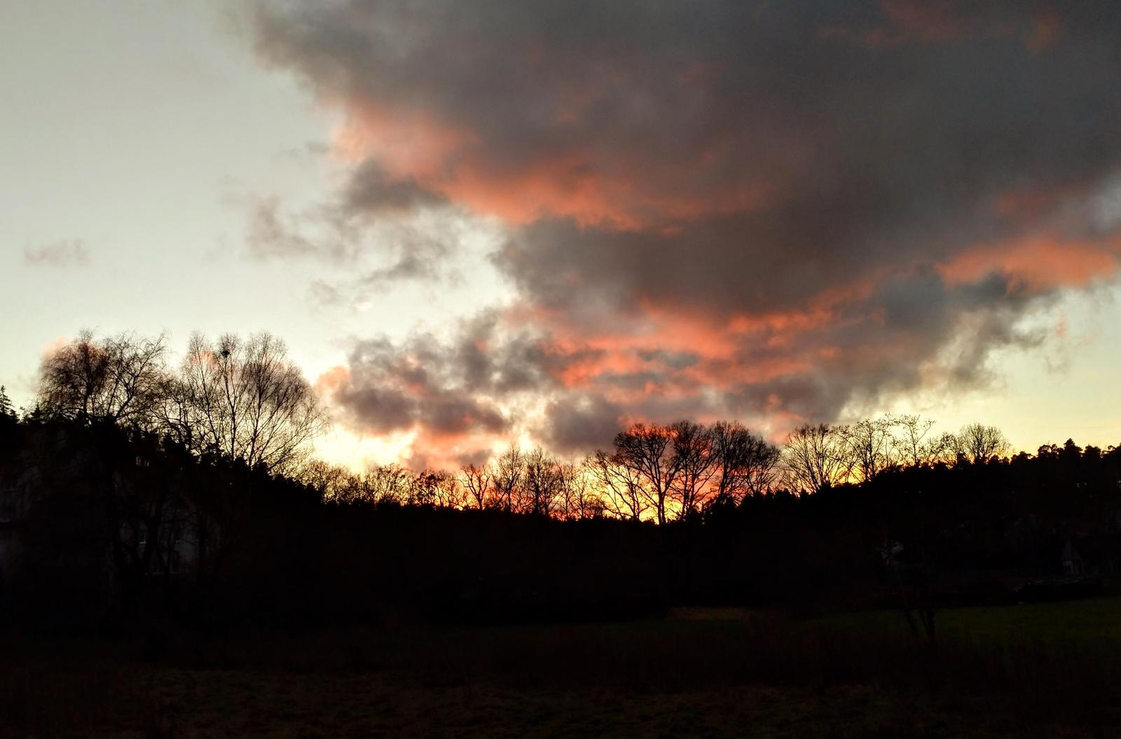 winter clouds by Mittelfranke
