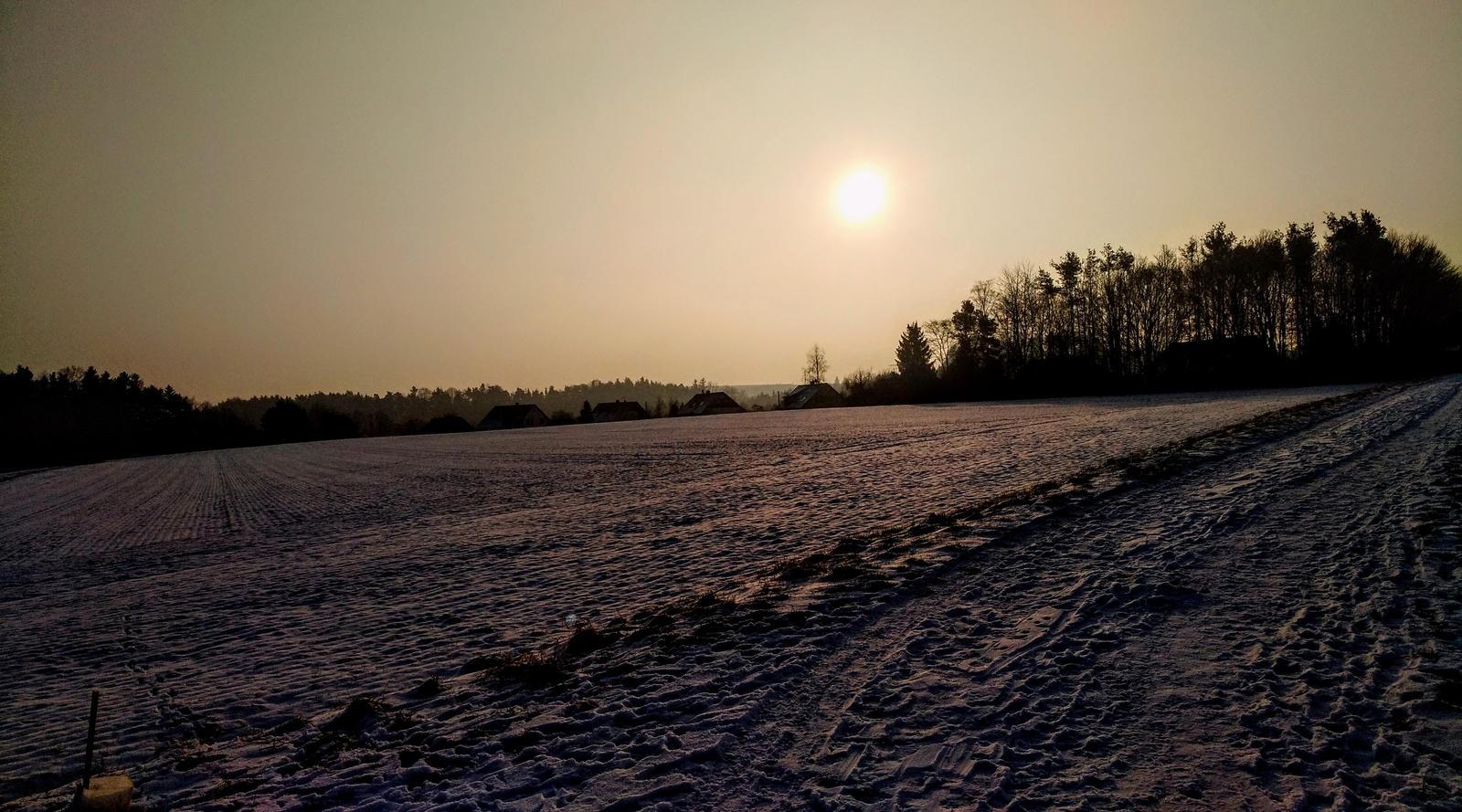 cold sunrise by Mittelfranke