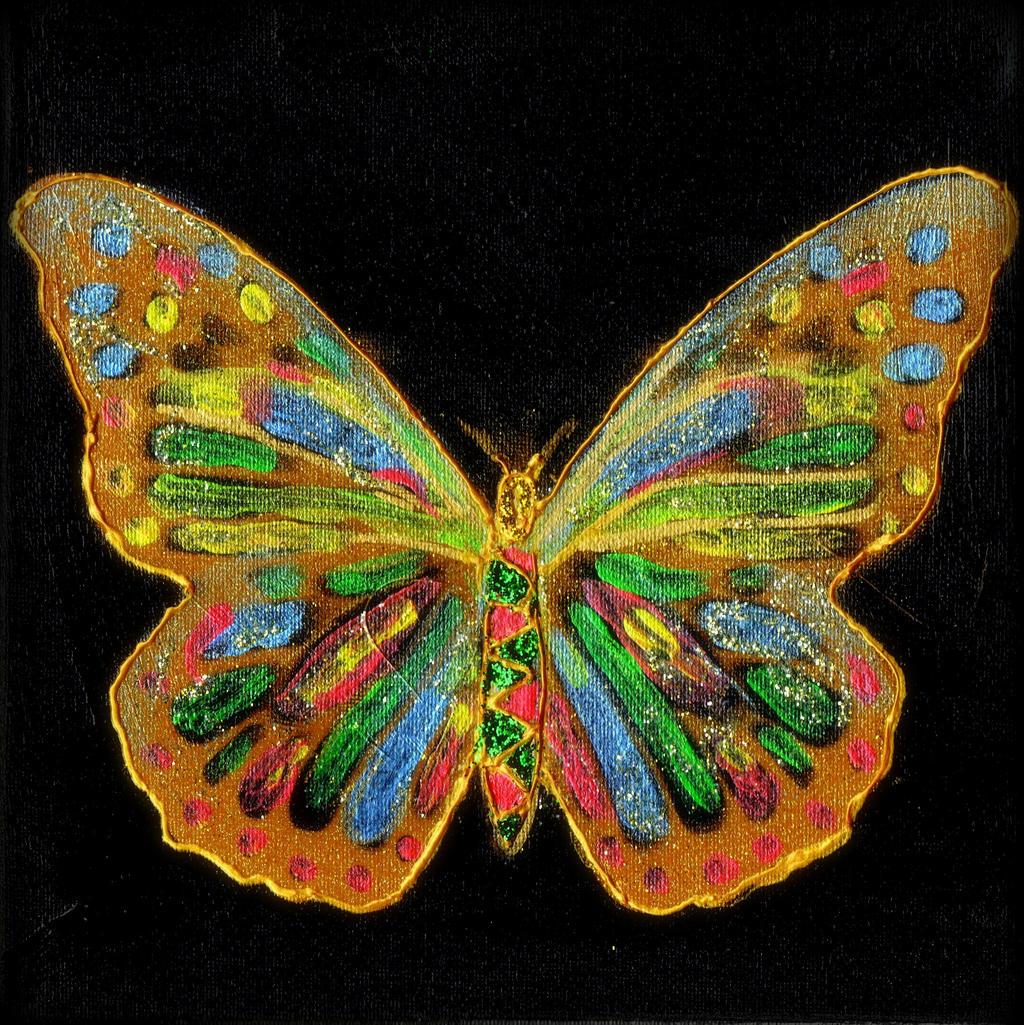 butterfly by Mittelfranke