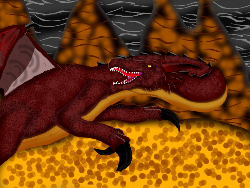 Great Red Dragon by Starchazer777