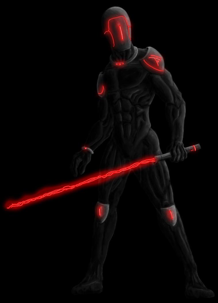 Futuristic Ninja Gear ...