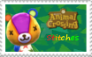 Animal Crossing Stitches stamp by RuffiMutt