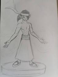New DND Character Design Goblin Monk