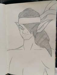 New DND Character Design Goblin Monk Avatar
