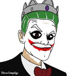 Deceit Character+Joker's Makeup Avatar Commission