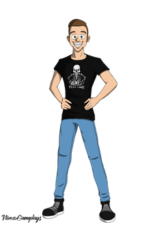 Full Body Commission for a Youtuber :)
