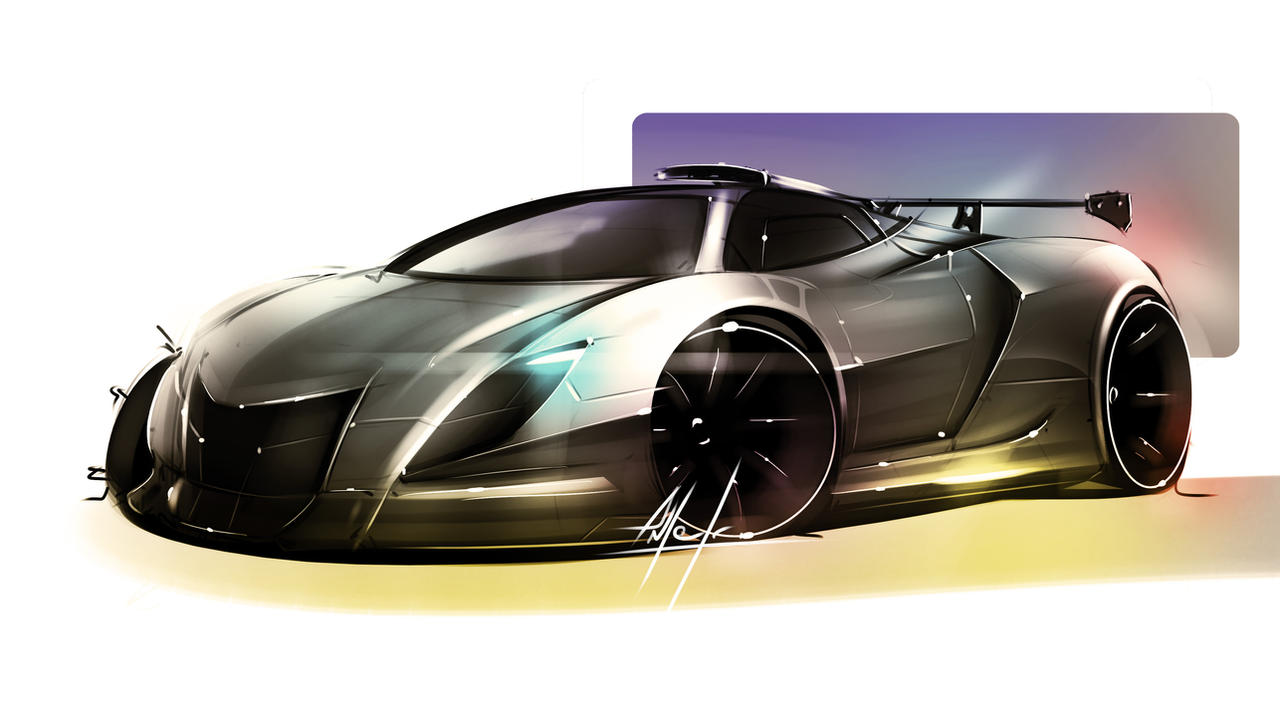 Sport Car by anterZorG
