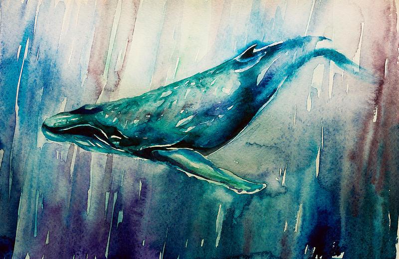 art whales whale tatto...