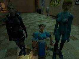 Battle Suit Slaves by VG-MC
