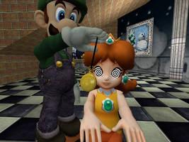 Luigi The Lady's Man: Daisy by VG-MC