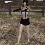 Tifa the Barefoot Zombie Marcher by VG-MC