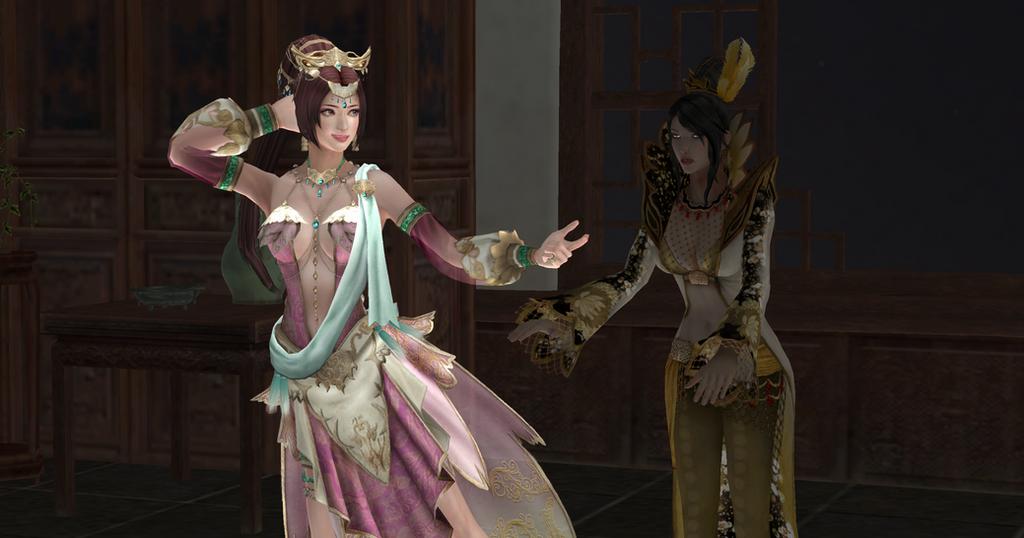 Diaochan's Dancing Dynasty by VG-MC