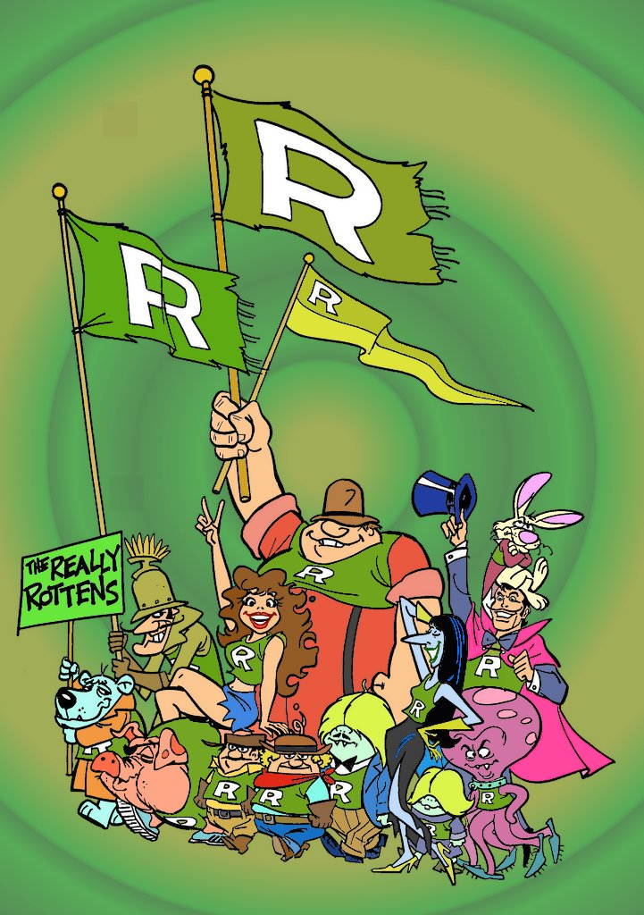 Laff-a-Lympics Really Rottens by ~slappy427 on deviantART