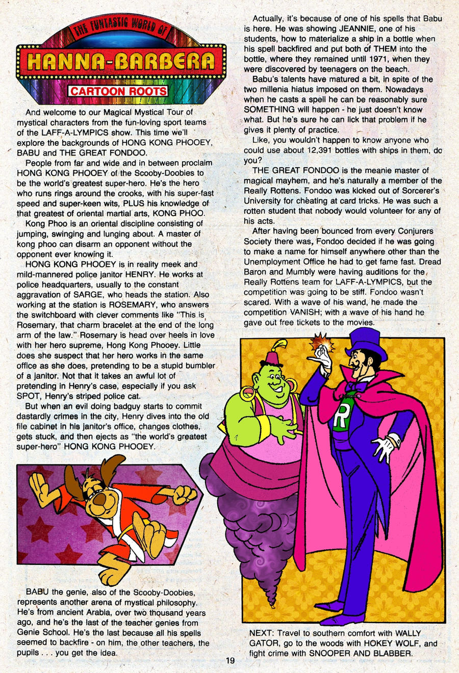 Hanna Barbera PSA 2 by slappy427
