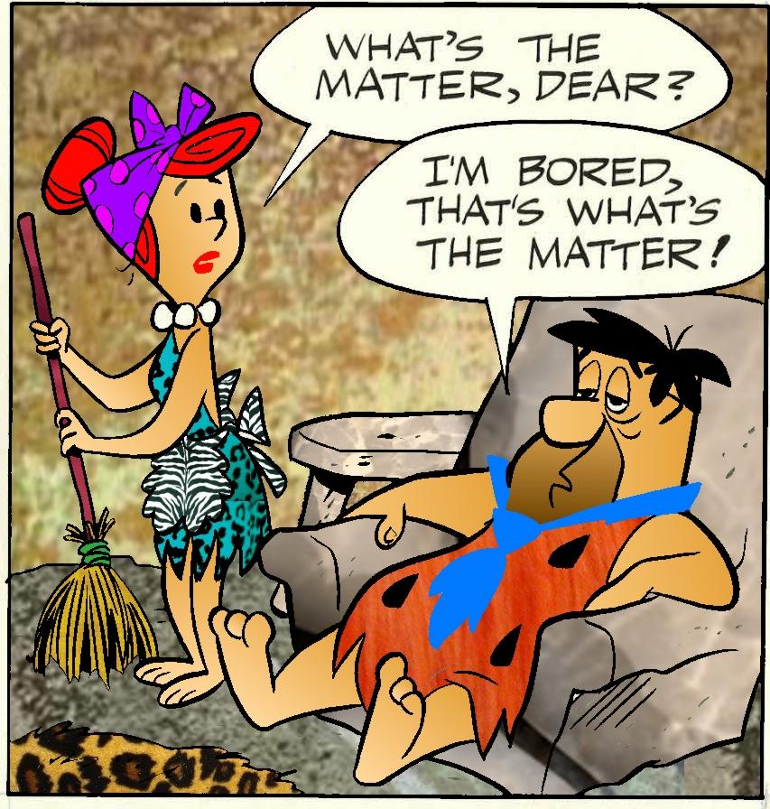 Flintstone Comic Art 3 by slappy427