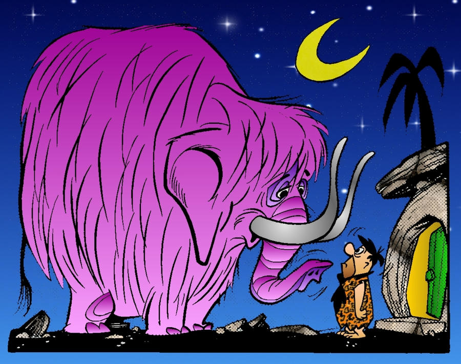 Flintstone Comic Art 4 by slappy427