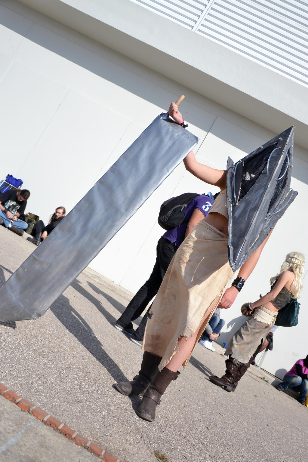 Pyramid Head from Silent Hill by Kaayxcrazy
