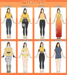 [HFV] Outfit meme - Kei by KeiARTx