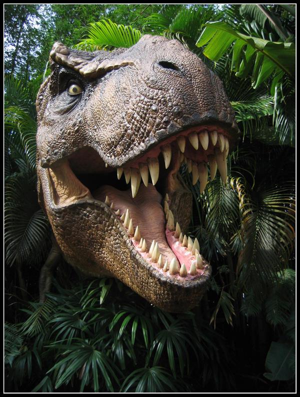 Tyrannosaurus Rex by NuitariK