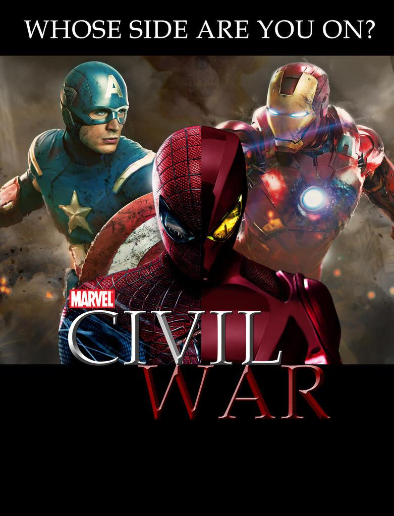 Movie Civil War by redshura