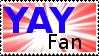Yay Fan Stamp by Davvrix