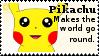Pikachu Stamp by Davvrix