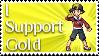 Gold Stamp by Davvrix