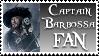 Captain Barbossa Stamp