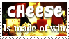 Cheese Stamp by Davvrix