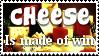 Cheese Stamp by Davvrix