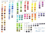 Copic Color Chart 2010