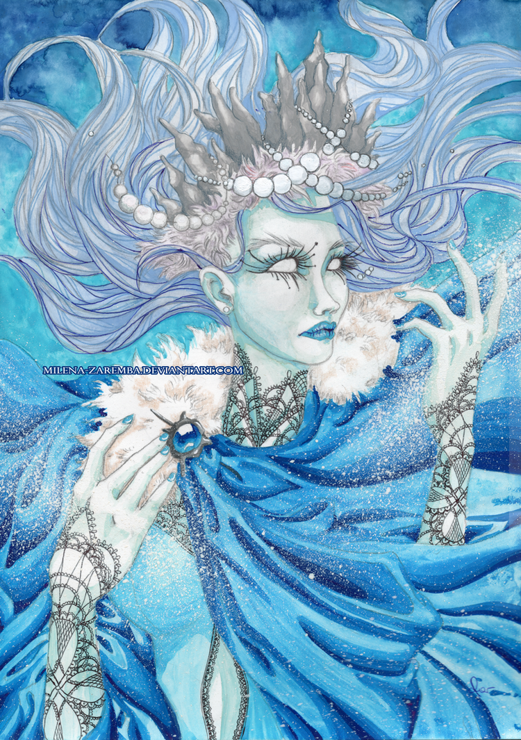 Winter Queen by Milena-Zaremba