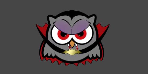 Monster Owls - Vampire by g1zz1e