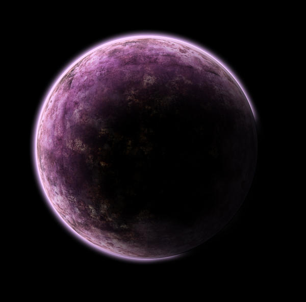 purple planet star comet - photo #30
