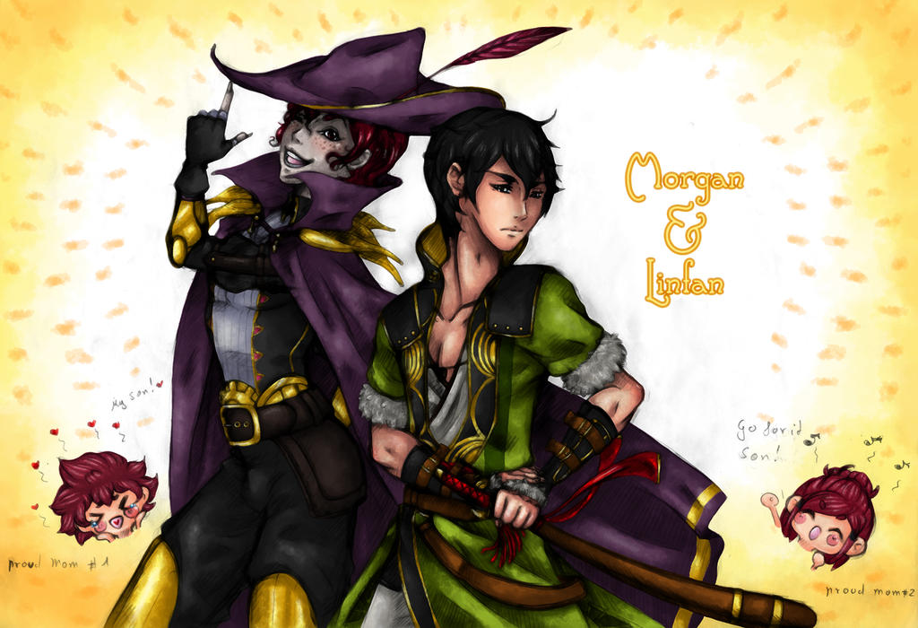 - FE - Morgan and Linfan by J-J-Joker