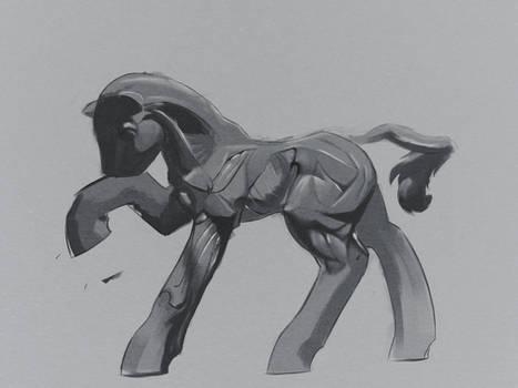 Cartoon pony anatomy