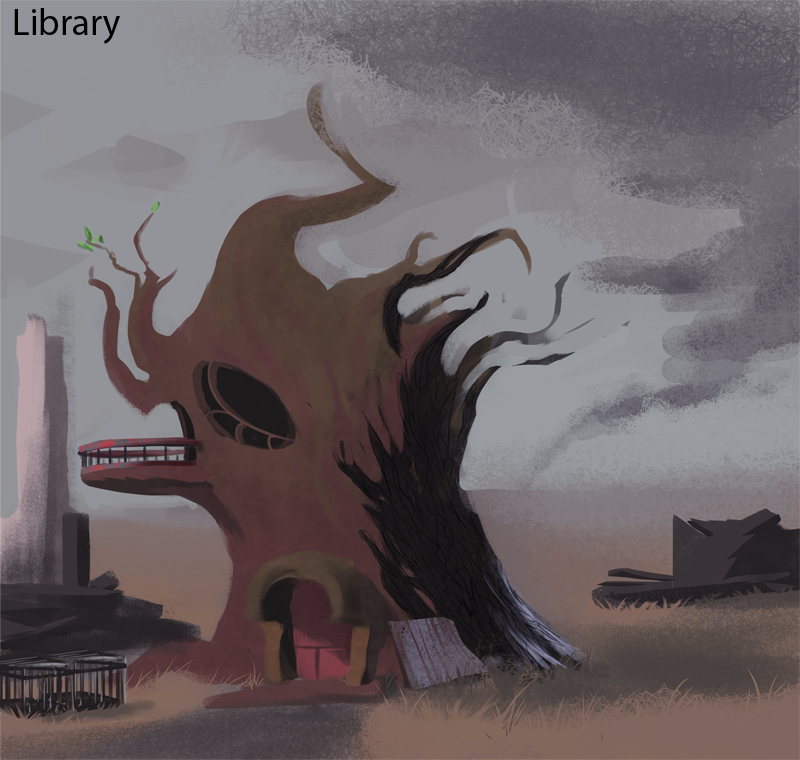 Twilight's Library (Fallout: Equestria) by Fiasko0