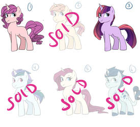 Rarity x Mane 6 and Spike Adopts ONLY 1 LEFT by h0mi3