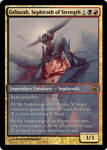 Geburah Sephiroth of Strength by d-conanmx