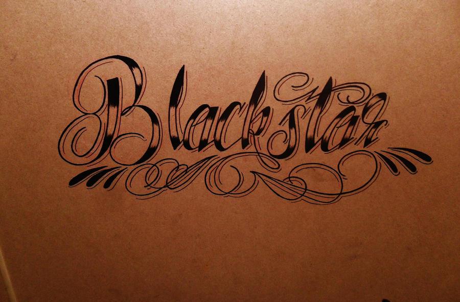 pretty cursive writing for tattoos