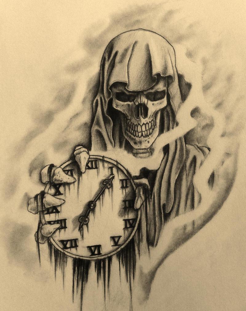 Drawings Grim Reaper Tattoo Realistic
