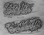 ForeArm Tattoo Script (Commission) by 814CK5T4R