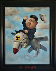 Nuclear Cowboy by 814CK5T4R