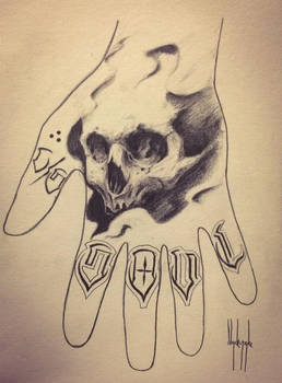 knuckle Rocker and Skull